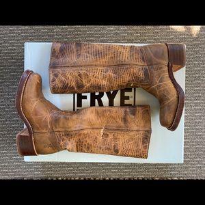 Campus Frye Dark Brown Boots